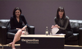 Women in Leadership: Sheryl Sandberg - video