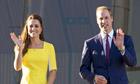 Prince William and Catherine Duchess of Cambridge visit Sydney Opera House