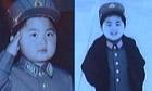 Kim Jong-un childhood photos