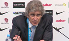 Manuel Pellegrini: Manchester City never gave up hope of winning Premier League - video