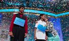 Ansun Sujoe and Sriram Hathwar win National Spelling Bee