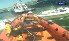 Runaway speedboat lassoed by the RNLI in Devon