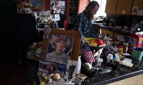 Bob Bergdahl in kitchen picture of bowe