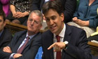 Ed Miliband in PMQs on Queens speech