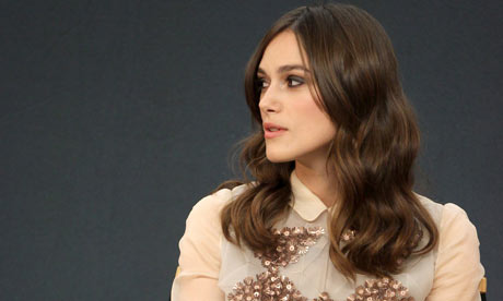 Keira Knightley, star of Begin Again