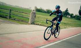 Fashioning fast: outfitting the elite cyclists of Team Sky - video