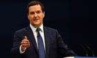 British Chancellor of the Exchequer George Osbourne speaks