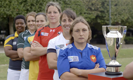 2014 Women's Rugby World Cup preview - video