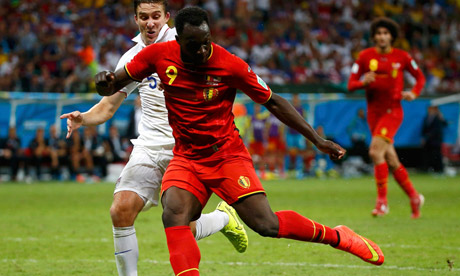 Romelu Lukaku speaks after joining Everton for £28m video