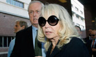 Shelly Sterling arrives at a Los Angeles courthouse