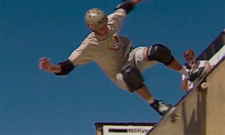 Vert skater Tas Pappas in documentary All This Mayhem
