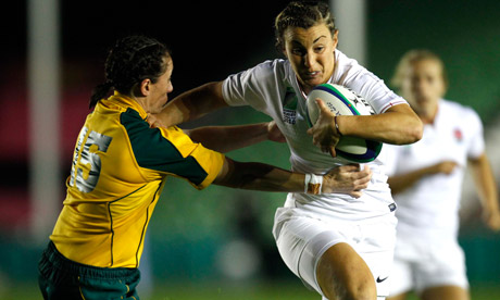 Women's Rugby World Cup 2014: England look ahead  video