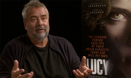 Luc Besson, director of the sci-fi thriller Lucy