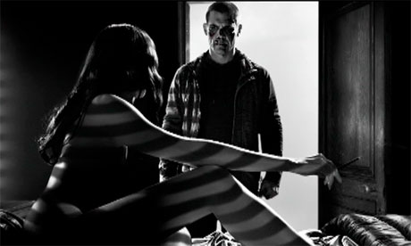 Eva Green and Josh Brolin in Sin City: A Dame to Kill For