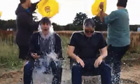 Tom Cruise and Mission: Impossible 5 director Christopher McQuarrie take the ice bucket challenge
