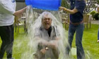 Alex Salmond takes ice bucket challenge