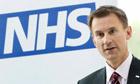Health Secretary Jeremy Hunt as he has said there should be