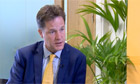 Nick Clegg promises 'tougher approach' if Gaza ceasefire fails