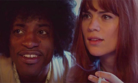 Andre Benjamin and Hayley Atwell in Jimi: All is By My Side