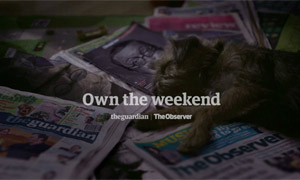 Own the Weekend ad