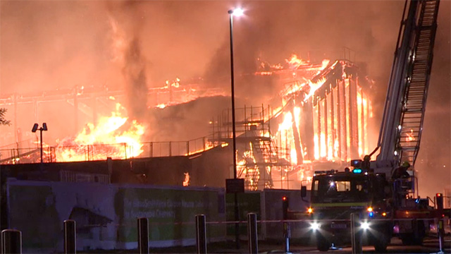 Nottingham Chemistry Building Fire