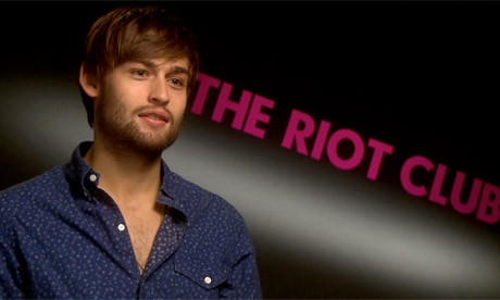 The Riot Club star Douglas Booth