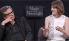 Colin Firth and Emma Stone talk about Woody Allen's Magic in the Moonlight