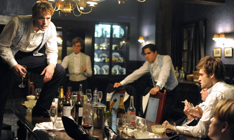 Still from The Riot Club