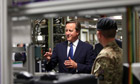 David Cameron in Wales for the NATO summit