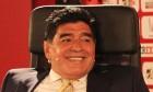 Diego Maradona criticises Sepp Blatter's Fifa presidency – video