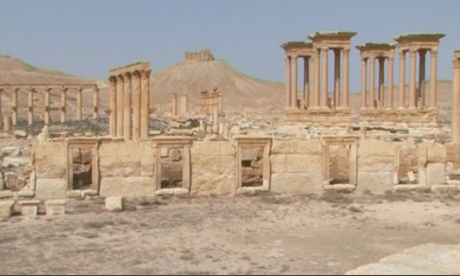Ancient Syrian city of Palmyra seen before Isis – archive video