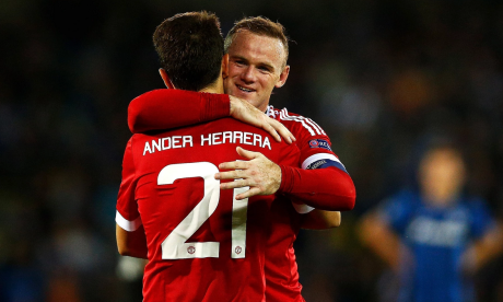 Louis van Gaal: happy with Rooney hat-trick, but we need more wins – video