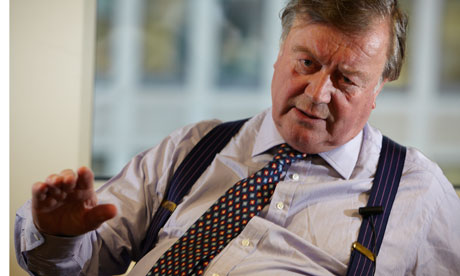 Coalition justice secretary Kenneth Clarke