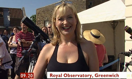 Carol Kirkwood BBC weather presenter
