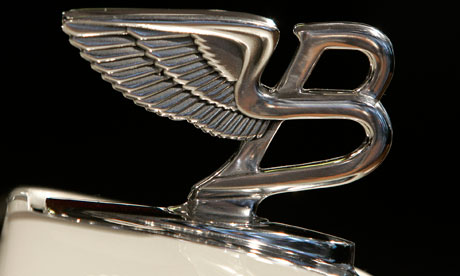 Bentley Azure bonnet ornament