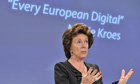 EU commissioner for Digital Agenda Neeli