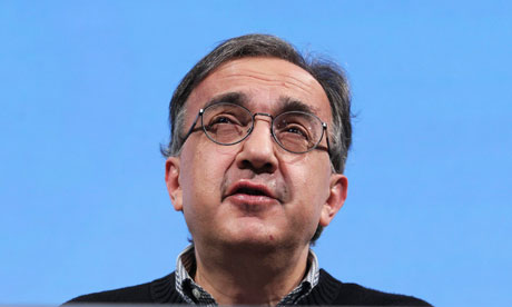 Fiat CEO Sergio Marchionne at the CBI