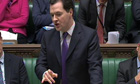 chancellor george osborne at Treasury questions