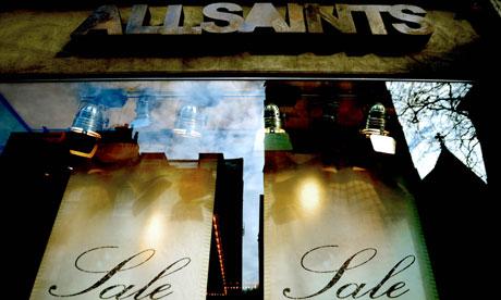 All Saints shopfront