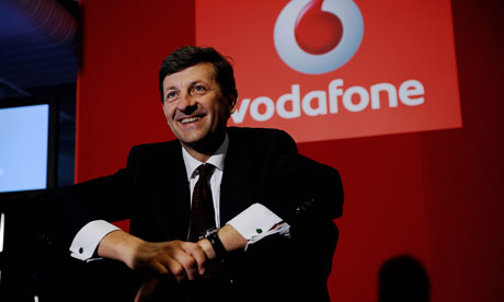 vodafone chief Vittorio Colao