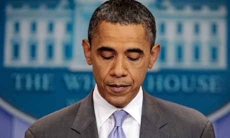 Barack Obama discusses debt ceiling impasse at the White House