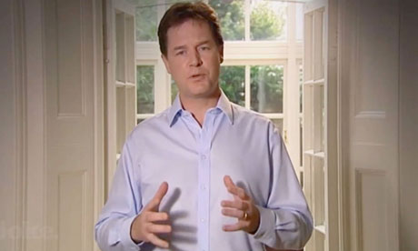 Nick Clegg apology