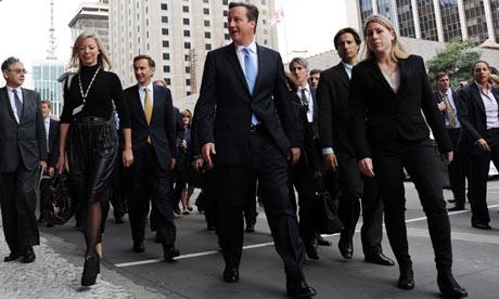 David Cameron visits Brazil