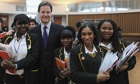 Nick Clegg Gives A Career Advice Talk To School Pupils