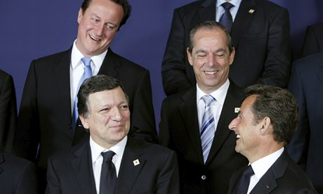 EU Summit, Brussels, Belgium - 17 Jun 2010