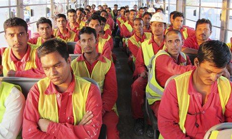 migrant workers dubai