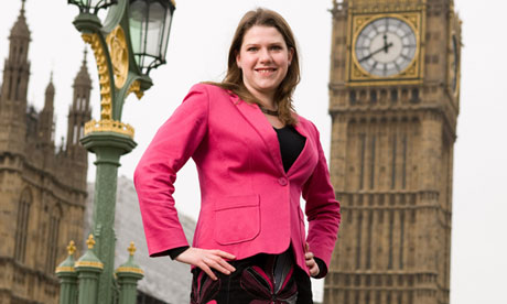 Jo Swinson MP in Westminster, London