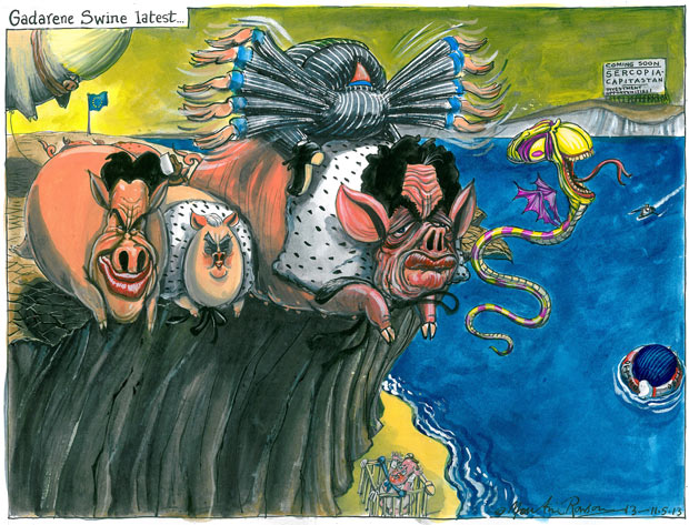martin rowson cartoon 11 may 2013
