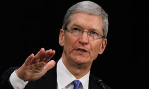Apple chief calls on US government to slash US corporate tax