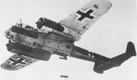 German bomber raised from Channel